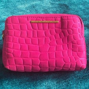 Marc by Marc Jacobs magenta makeup pouch